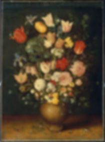 Bouquet of Flowers in a Clay Vase.jpg