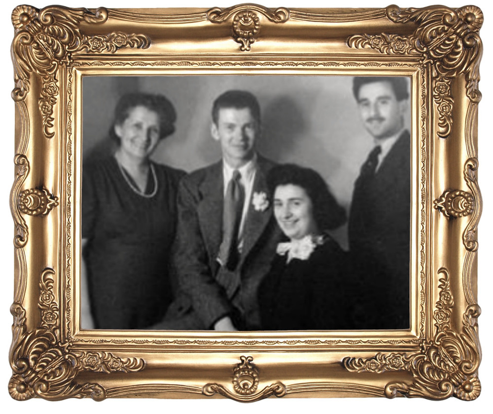 James A. Reeds, Hedwig Neumann and Family