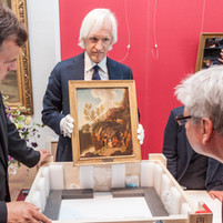 Tears flowed with the return of three paintings taken by an American soldier after the war to their rightful owner – the Anhalt Art Gallery in Dessau, Germany. These are the only works of art out of more than 700 that went missing that have surfaced since war's end. (June 2015)