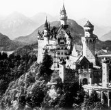 N - Neuschwanstein Castle