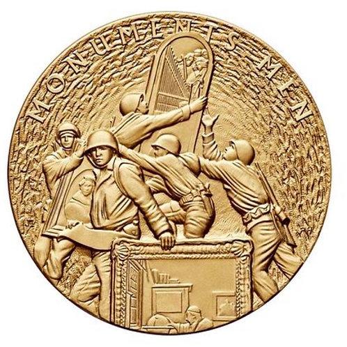 Monuments Men Bronze Medal 3 Inch