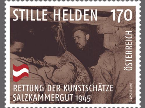 Monuments Men Austrian Commemorative Stamp (Austrian Post Office, 2016)