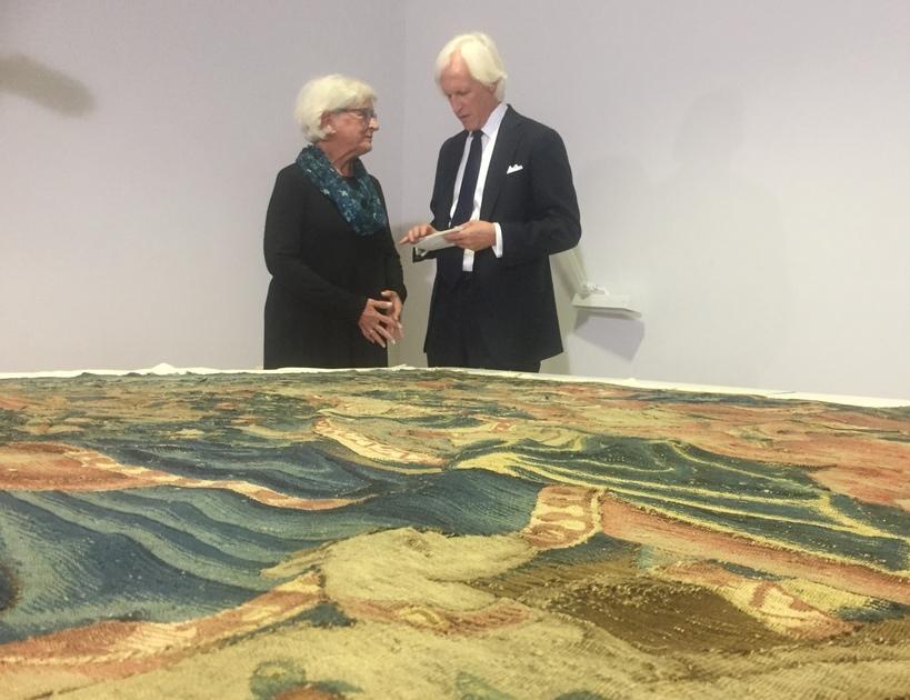 Robert M. Edsel with Cathy Hinz