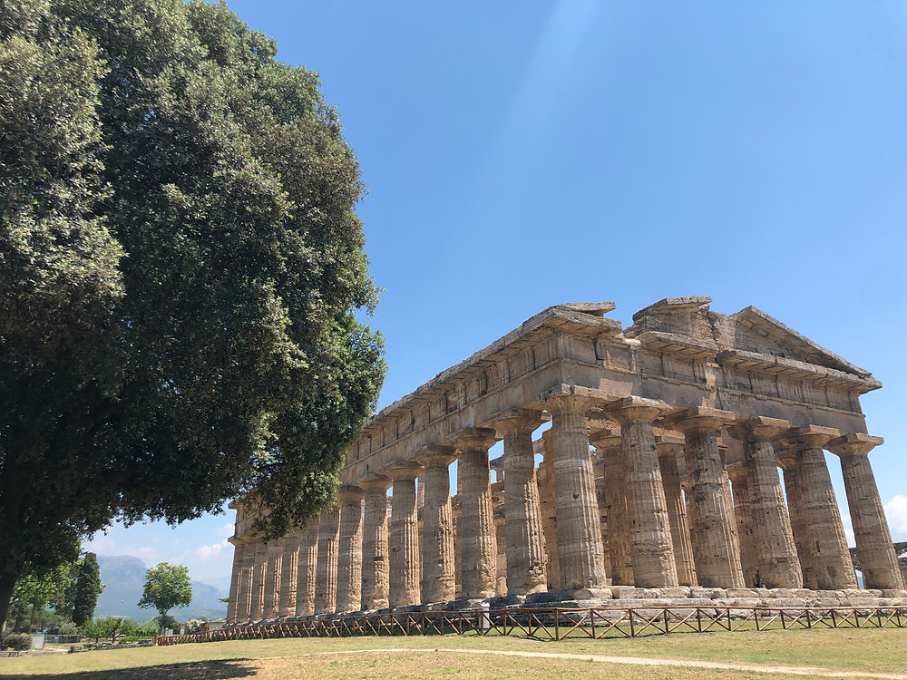 Temple of Hera, Paestum, Italy.