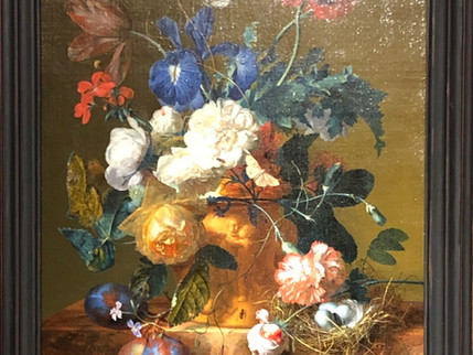 He Looked Down the Hill from his Resting Place and Smiled: The Stolen Masterpiece by Jan van Huysum