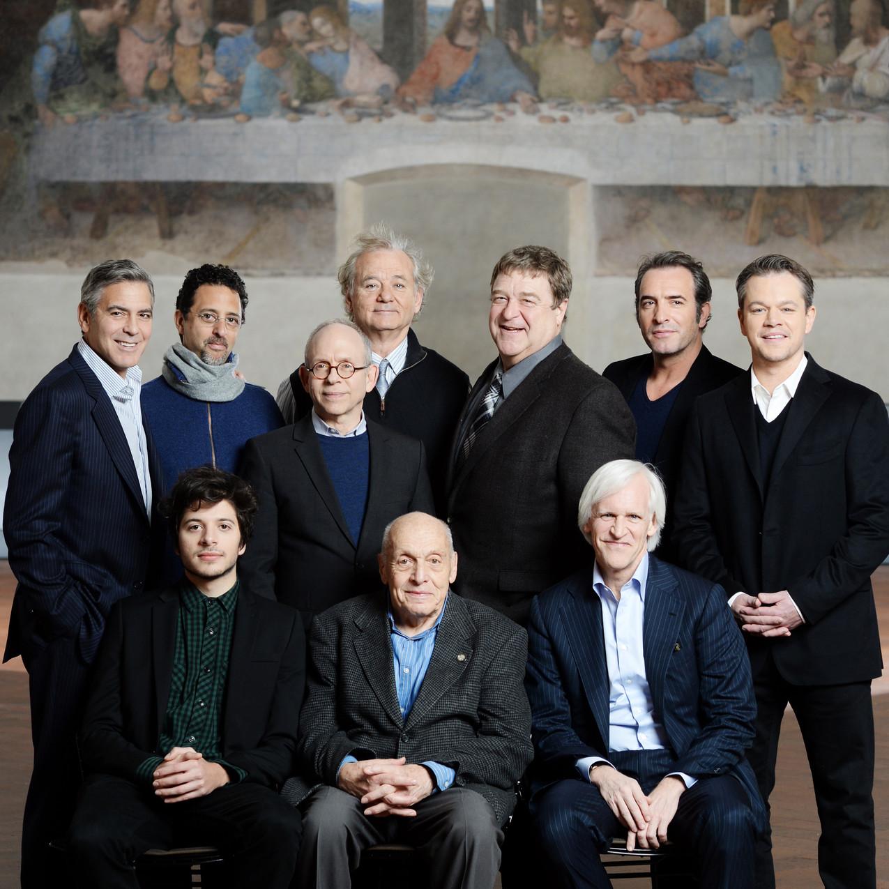 Cast of the Monuments Men