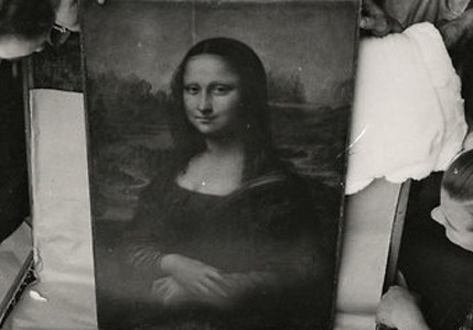 100th anniversary of the recovery of the Mona Lisa