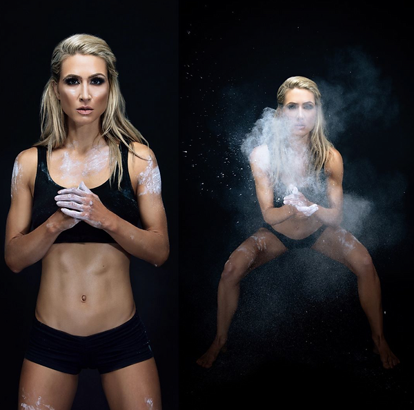 Andrea Lowell, Fitness Model, Personal Trainer, & Raw Nutritionist