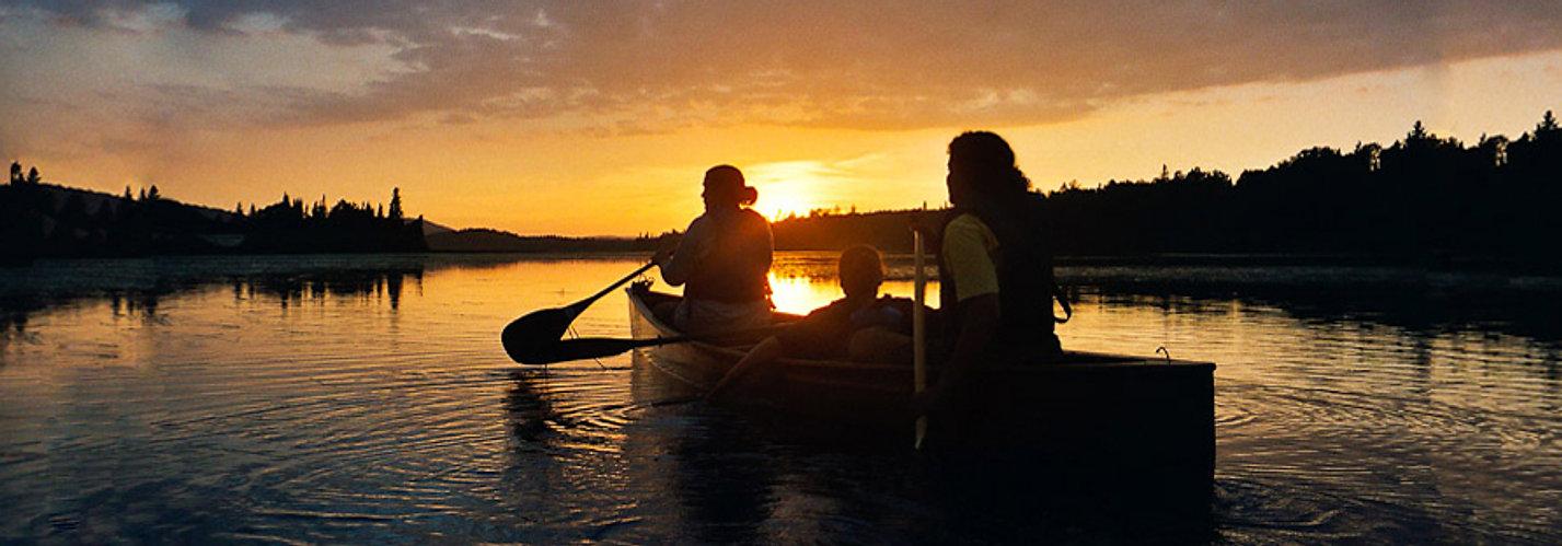 Canoeing in Kawartha