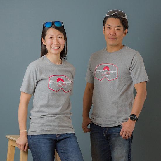 Shiga Kogen Heather Grey Super Soft T-Shirts Adult