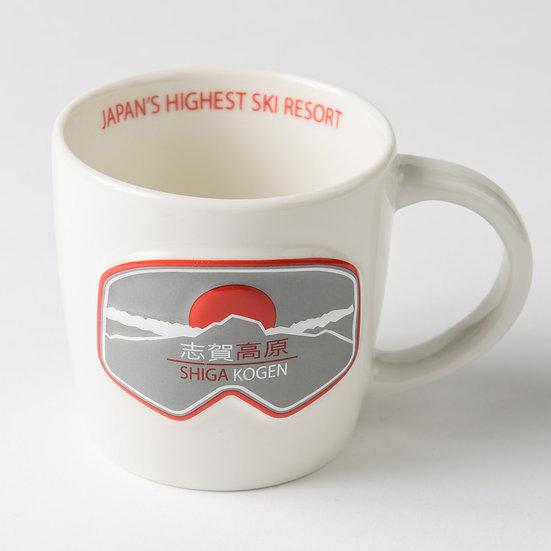 Shiga Kogen Ceramic Coffee Mug