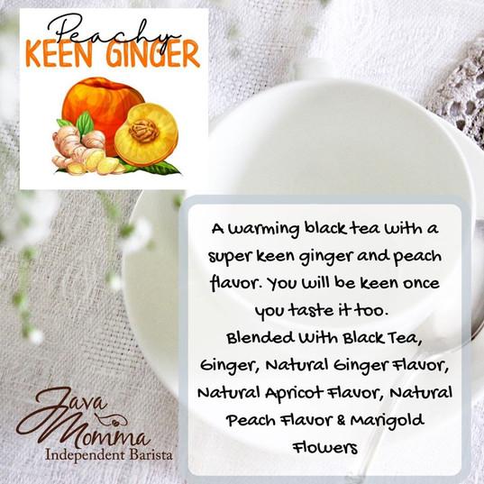 Peachy Keen Ginger