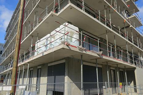 essais de chargements de balcons