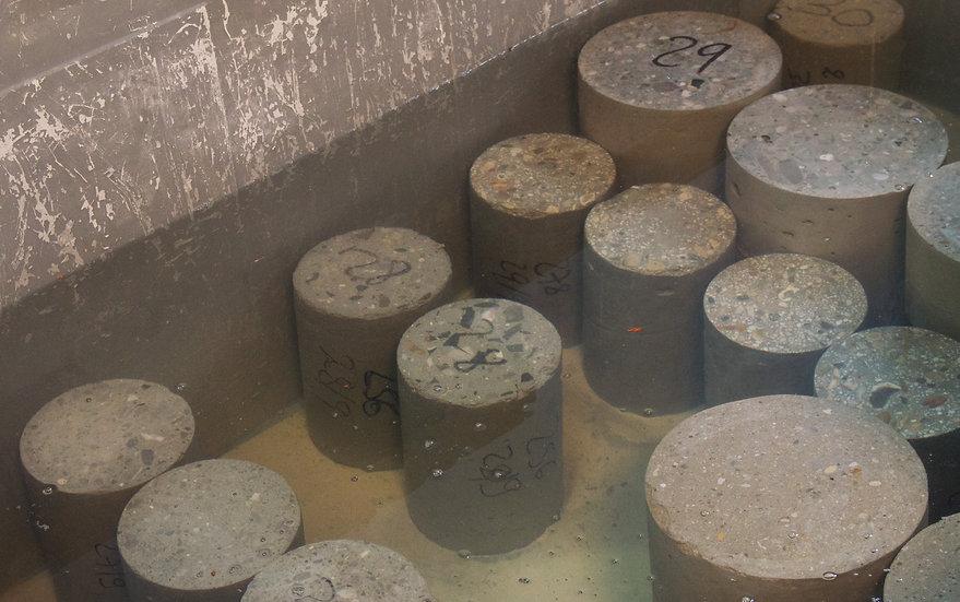 éprouvettes béton Rincent Laboratoires Ile de France Nord