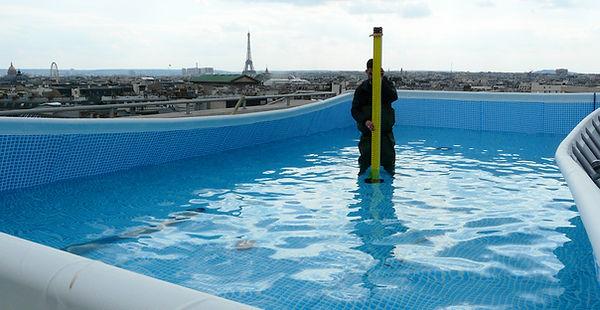 Galeries Lafayette Haussmann Validation des surcharges d'exploitation Essais de chargement de planchers 