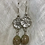 Thumbnail: Floral Earrings with Autumn Jasper