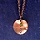 Thumbnail: Copper Initial Necklace