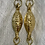 Thumbnail: Gold and Pearl Coin Earrings