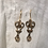 Thumbnail: Bronze Heart Earrings