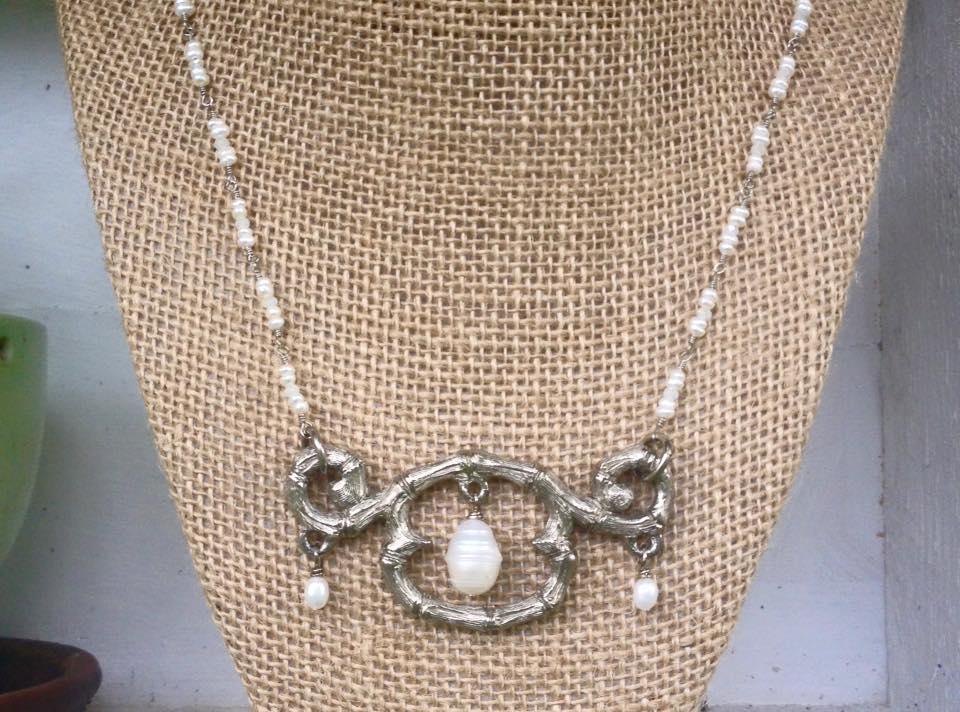 Renaissance Pearl Necklace
