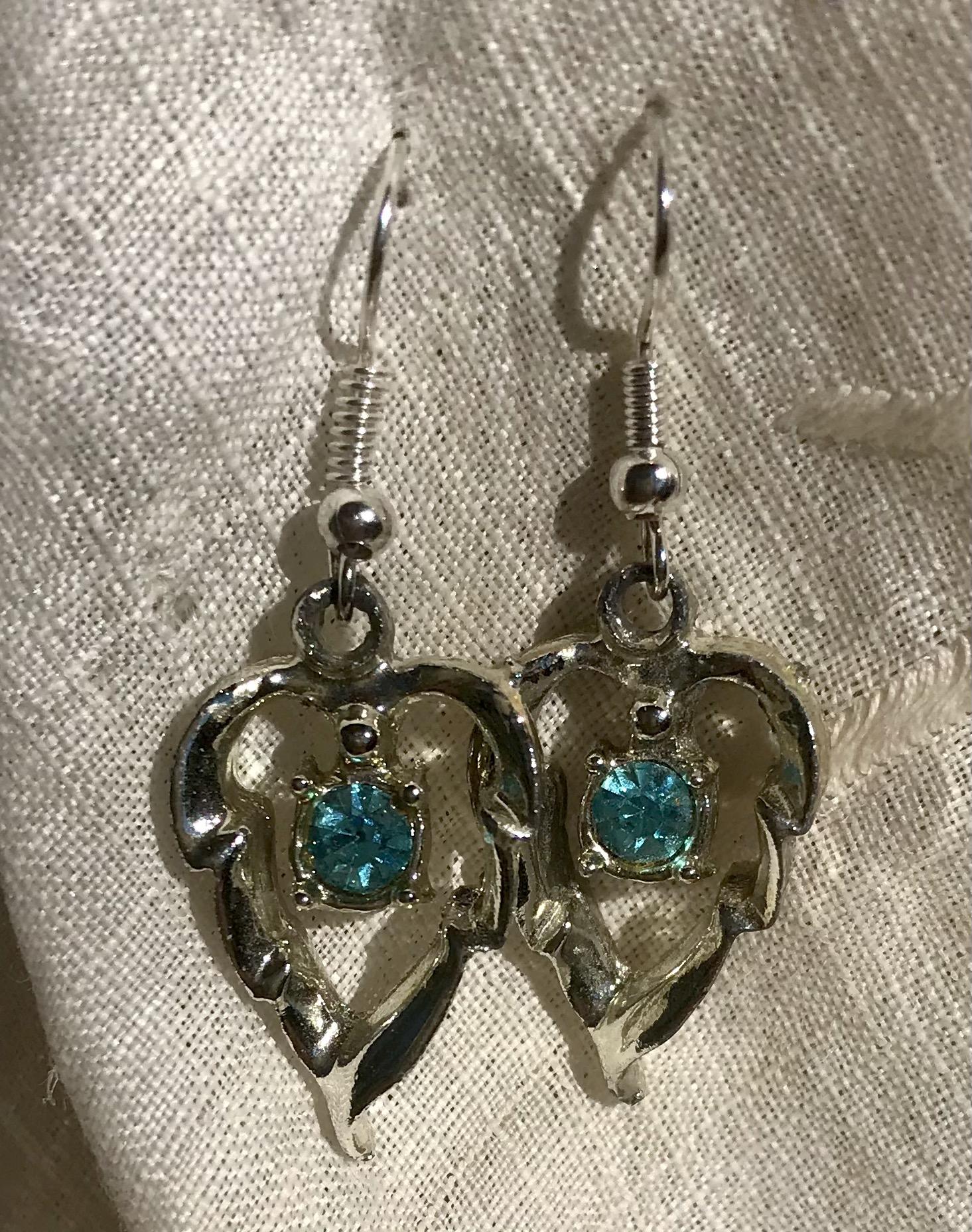 Repurposed Vintage Earrings