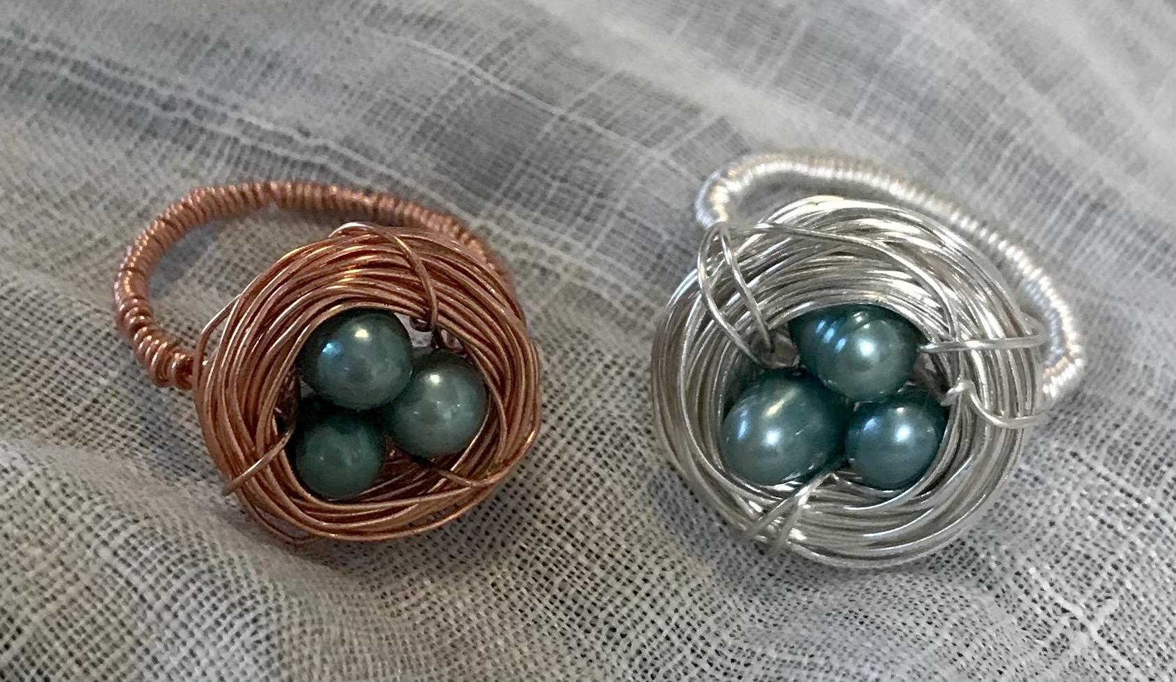 Robin Nest Rings