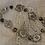 Thumbnail: Floral Bracelet with Cloissoné Beads