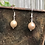 Thumbnail: Plated Moonstone Earrings
