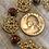 Thumbnail: Spiral and Cloissoné Bracelet