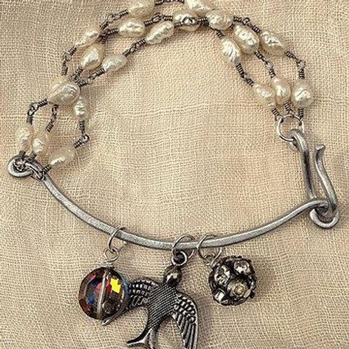 Vintage Trinket Bracelet