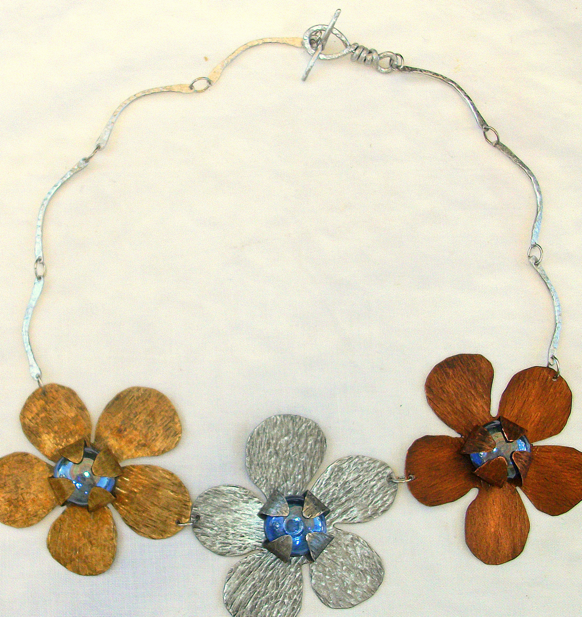 Flower Statement Necklace (5)