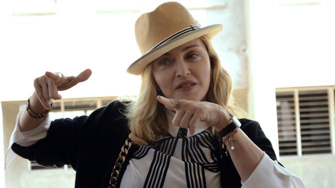 Madonna está em todas