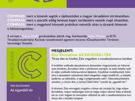 COMPASS - tájékozódás a magyar társadalomtörténetben