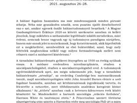 Konferenciafelhívás! A Hajnal István Kör Társadalomtörténeti Egyesület 35. konferenciája!