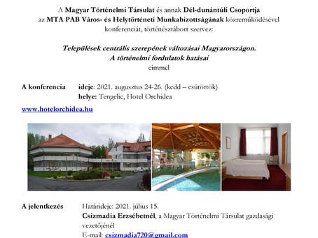 Ismét nyári konferenciatábort szervez a Magyar Történelmi Társulat
