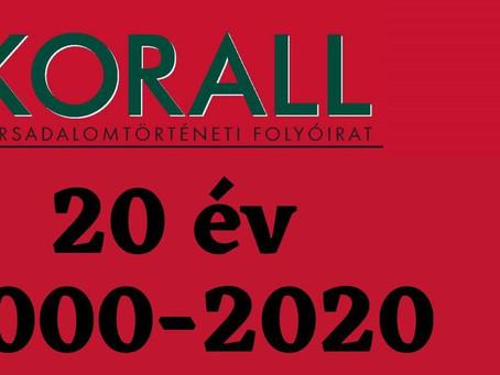 Zsidó felemelkedés vs. térnyerés - felhívás a KORALL 87. számához