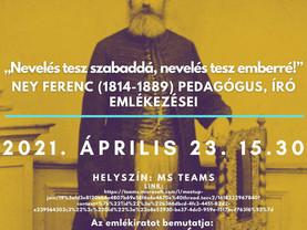 Ney Ferenc Emlékezései - szeminárium a Professzionalizáció-történeti Kutatócsoport szervezésében