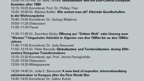 Nemzetközi műhelykonferenciát szervez a Globalizációtörténeti Kutatócsoport