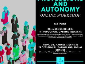 Online workshop a hivatásokról és az autonómiáról
