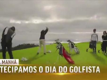 Presidente do Xira Golfe na TVI