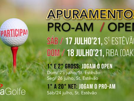 Inscrições Abertas para o OPEN XIRA Golfe & PRO-AM!