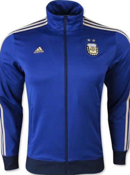 Argentina Track Top Blue & Gold