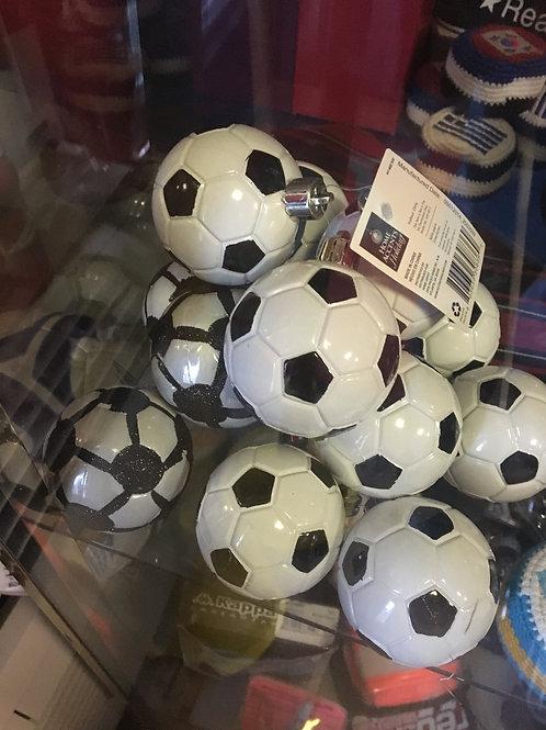 Soccer Ball Christmas Ornaments
