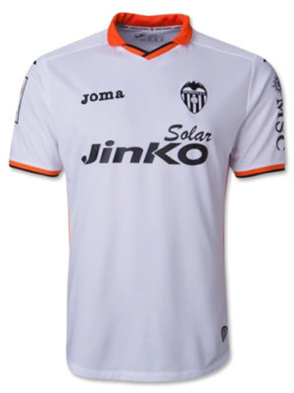 Valencia Joma Home Jersey