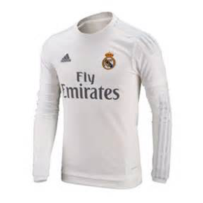 Real Madrid Home Long-Sleeve Jersey