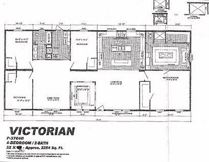 Live Oak Homes Victorian Floor Plan