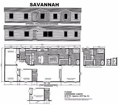 Showcase portfolio savannah for Plantation modular homes