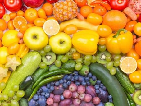 Eat rainbow foods