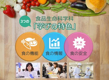 「食の情報」「食の機能」「食の安全」の連載が始まります!