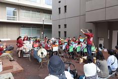 大学祭/吹奏楽部による野外演奏